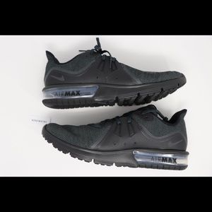 Nike Air Max Sequent 3 Black NIB